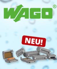 Sicherer Feuchtigkeitsschutz: WAGO Gelboxen für COMPACT-Verbindungsklemmen