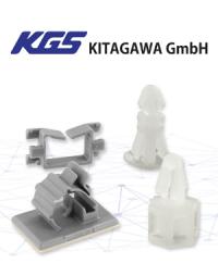 Mit Abstand am besten: Die Abstand- und Kabelhalter von KGS Kitagawa