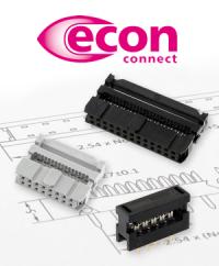 Pfosten- und Leiterplattenverbinder: Zuverlässige Klassiker aus dem Hause econ connect
