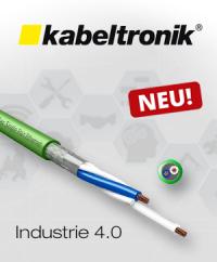 Neu im Sortiment: Einpaarige Leitungen für Industrie 4.0