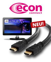 Profiqualität: Die neue HDMI-Kabel Serie von econ connect