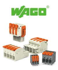 Ein Blick, ein Klick - Leiterplattenklemmen mit Hebel von WAGO