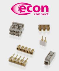 Für eine effiziente Beleuchtung: Die LED-Steckverbinder von econ connect