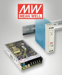 Power für DIN-Schiene und Gehäuse: Die MDR und RSP Serie von Mean Well