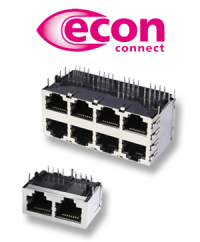Die vielfach bessere Verbindung: Multiport-RJ45 Buchsen von econ connect