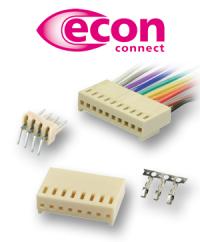Die schnelle und einfache Steckverbinderlösung im Rastermaß 2,54 mm