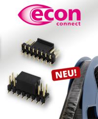 Präzise Verbindung: Die neuen SMT-Stiftleisten von econ connect