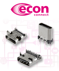 USB 3.1 Typ C Einbausteckverbinder – ab Lager verfügbar
