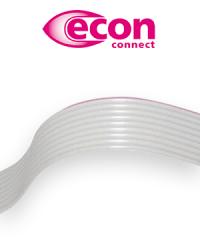 Perfekt für Schneid-Klemm-Verbindungen: Die Flachbandkabel von econ connect